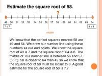 Estimate Root Math Worksheets. Estimate. Best Free ...