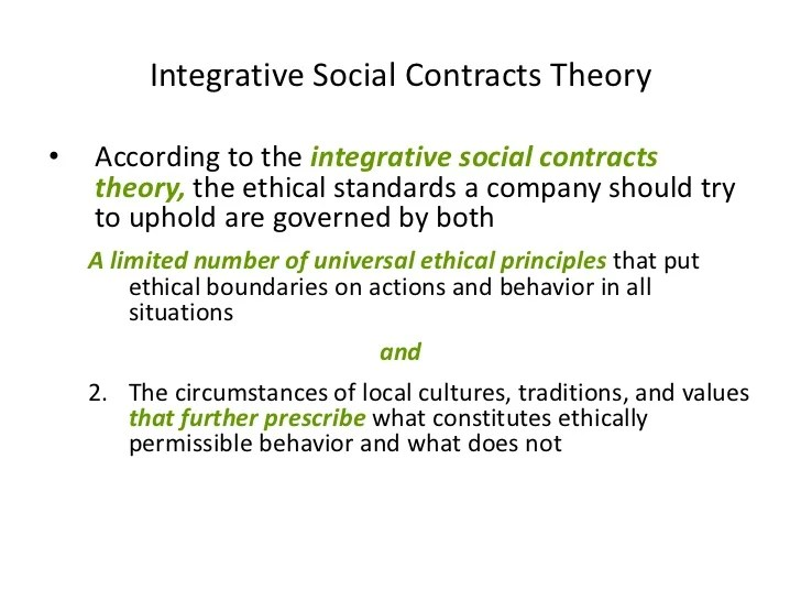 Contract Template Definition – Social Contract Template