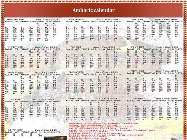 History Of Gregorian Calendar By Year The Gregorian Calendar Ethiopia Introduction