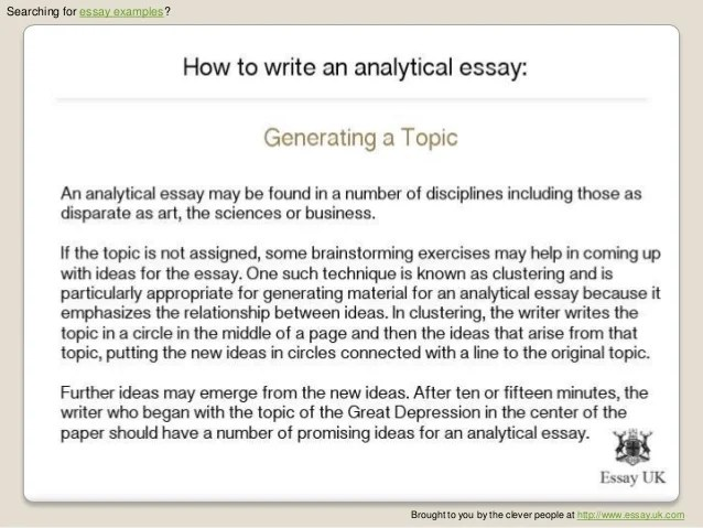 writing an issue paper