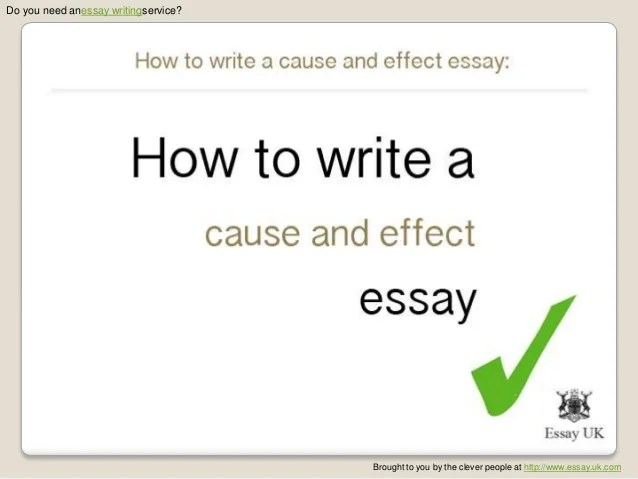 description of an essay