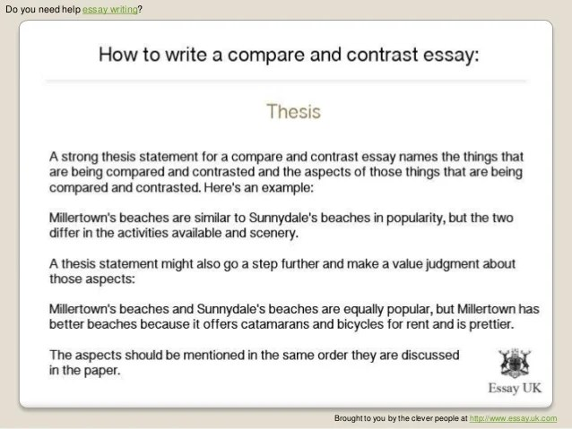 easiest way to write an essay