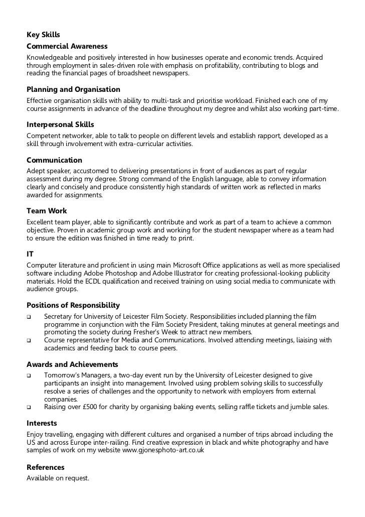 examples of skills resumes - Akbagreenw - Examples Of Skills For Resume