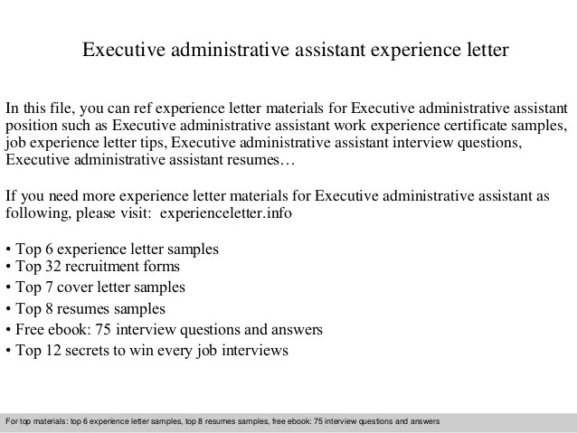 sample cover letter for executive administrative assistant - Alan