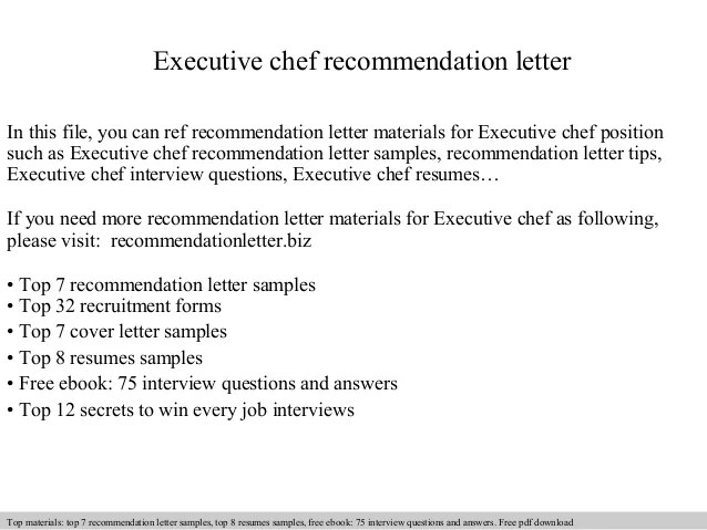Executive Chef Cover Letters - Selomdigitalsiteexecutive chef resume ...