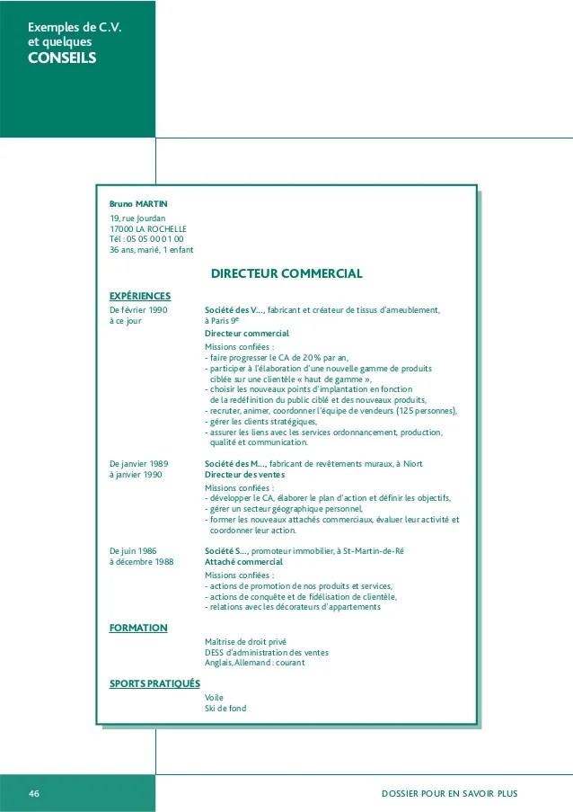exemples de cv directeur production
