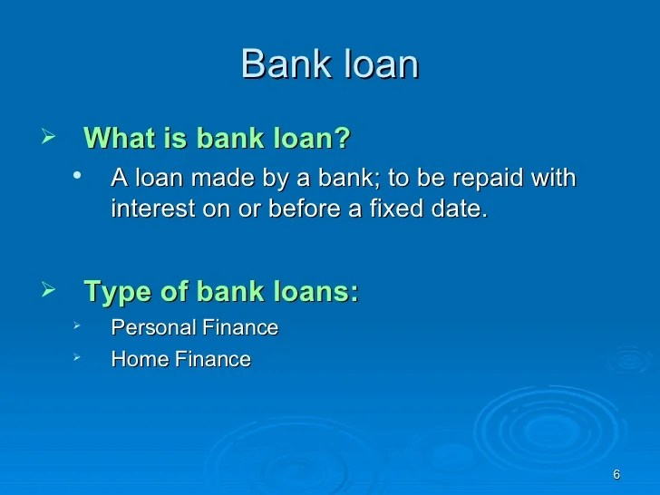 EXPERT SYSTEM FOR LOAN BY BANK