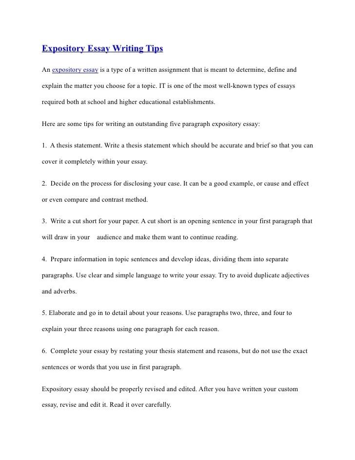 good expository essay