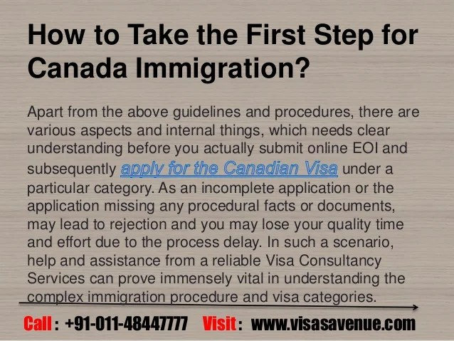 Canada Immigration Process For Skilled Workers Visa All