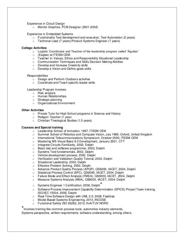 embedded programmer resume - Onwebioinnovate