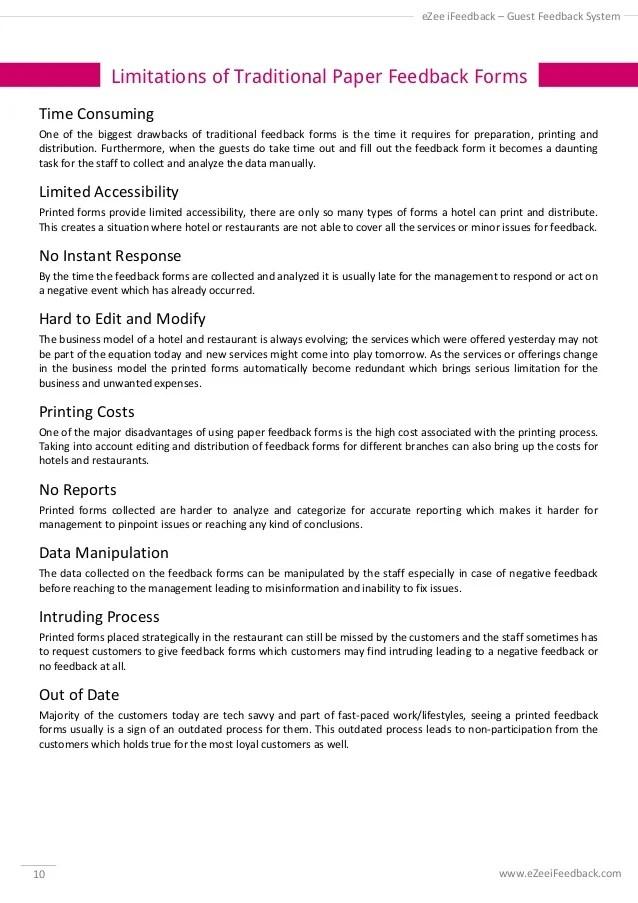 restaurant feedback forms - Pinarkubkireklamowe