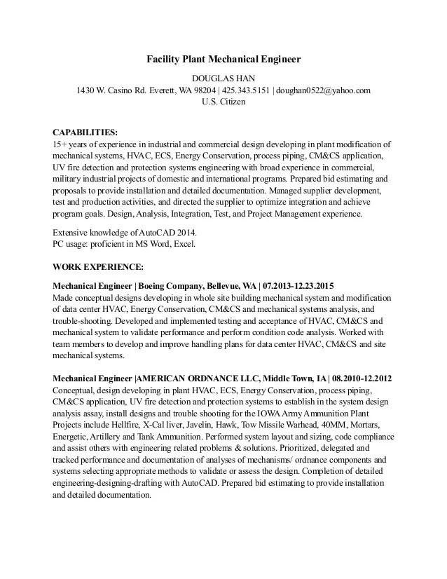Boeing Resume - Resume Ideas