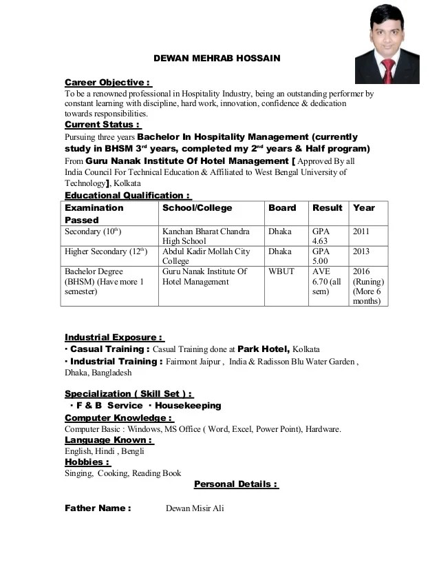 hotel management objectives - Selol-ink