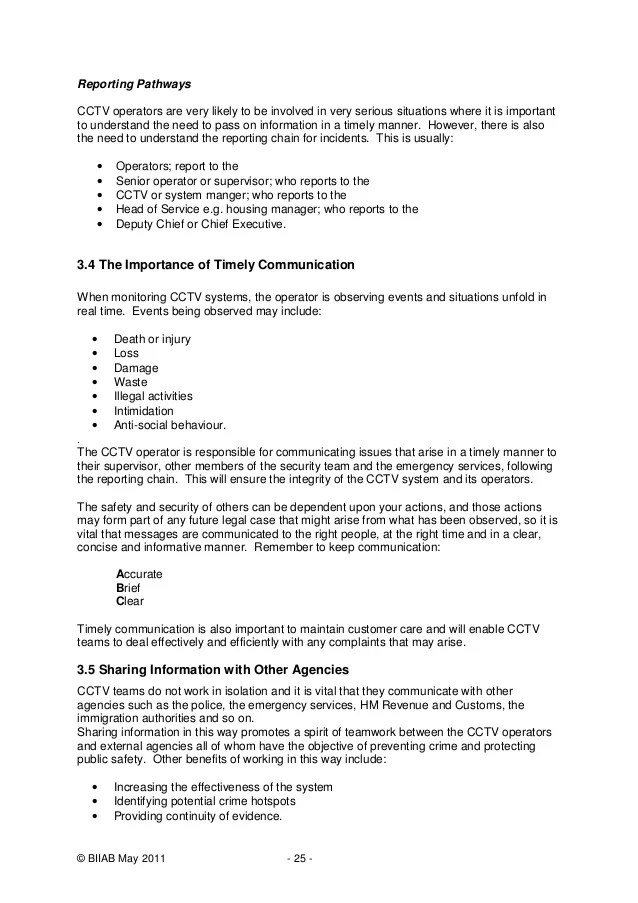 cctv incident report - Minimfagency - what is an daily incident reports