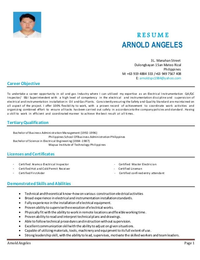 shipper receiver resume sample