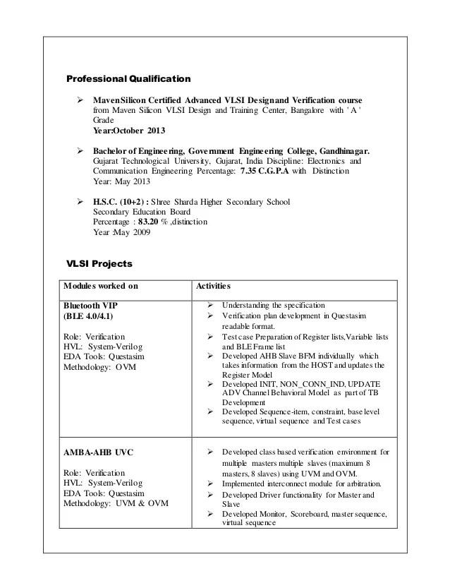Digital Design Engineer Resume digital design engineer resume