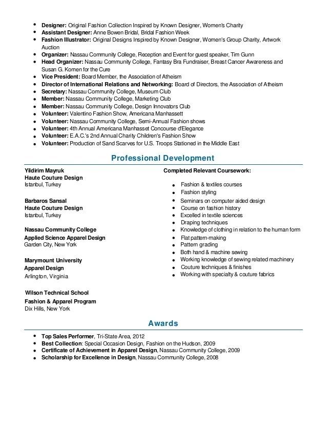 fashion merchandising resume samples - Josemulinohouse - garment merchandiser sample resume