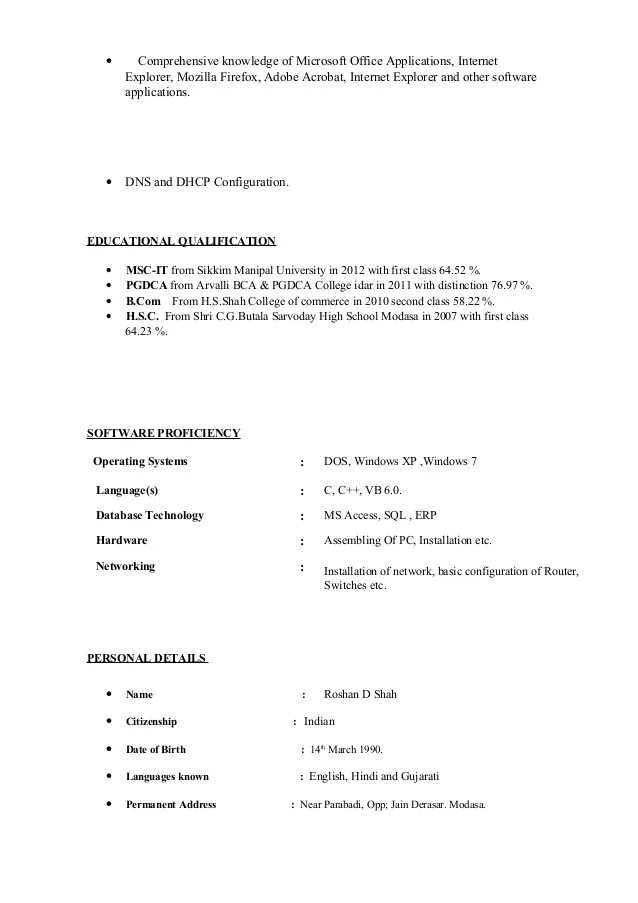 knowledge of microsoft office resume - Doritmercatodos - resume microsoft office