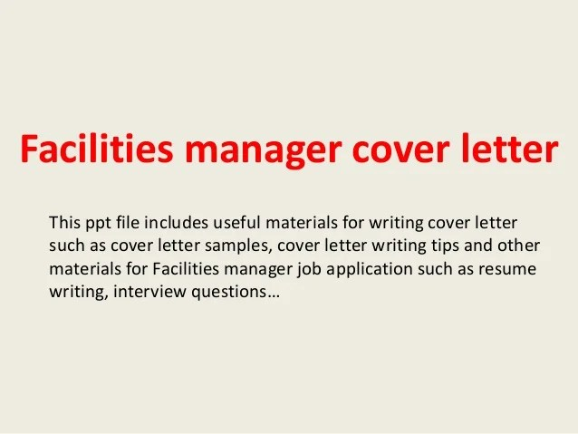 Teachers Professional Resumes Australian School Facilities Manager Cover Letter