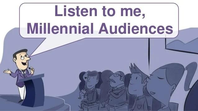 Facing Millennial Audiences