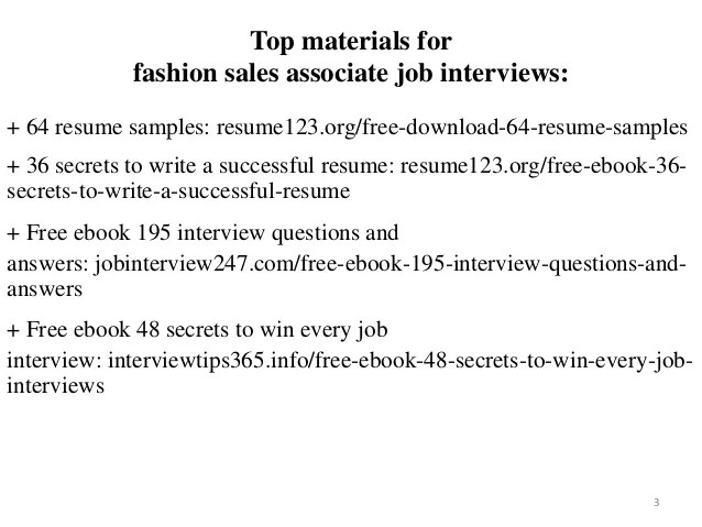 clothing sales associate resume - Pinarkubkireklamowe