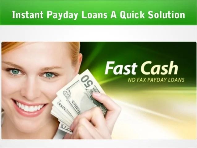 Fast cash payday loan
