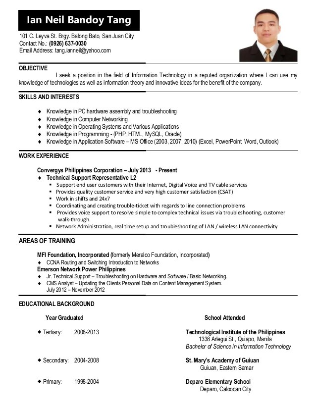 resume update - Funfpandroid