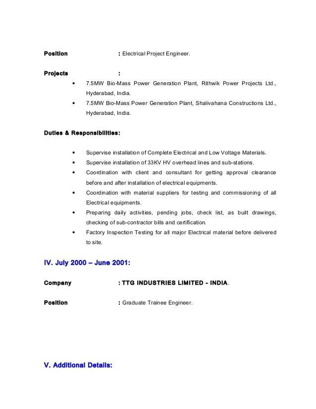 power engineer cover letter - Jolivibramusic - certified plant engineer sample resume