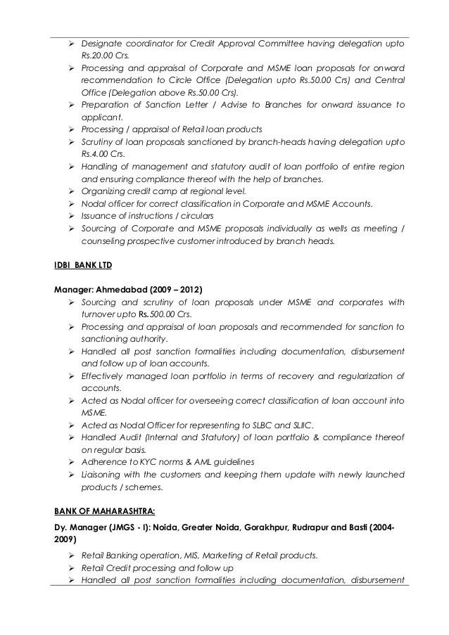 resume for credit analyst - Ozilalmanoof