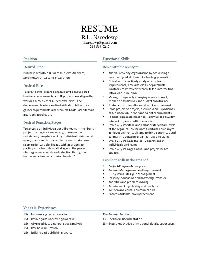 What Does It Mean When It Says how to write an effective resume