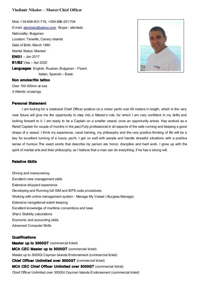 applying resume sample