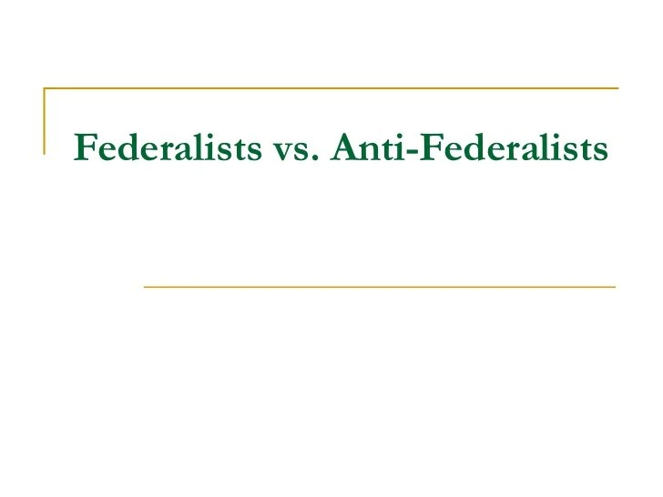 ... .weebly.com/federalists-vs-anti-federalists ... Images - Frompo