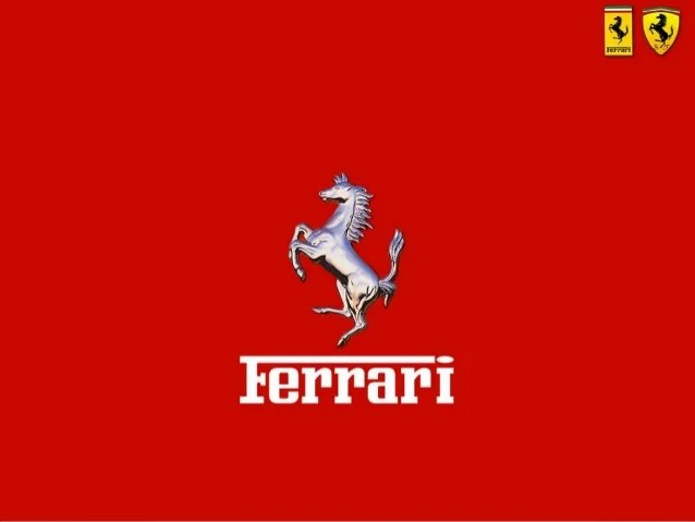Car Brand Logos Wallpaper Ferrari Ppt