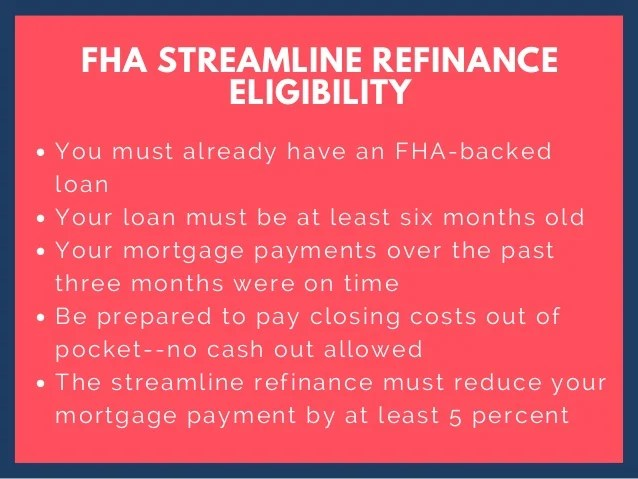 FHA streamline refinance offers are real and worth exploring.