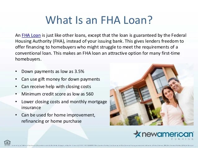 Choosing a Mortgage - FHA vs Conventional | New American Funding