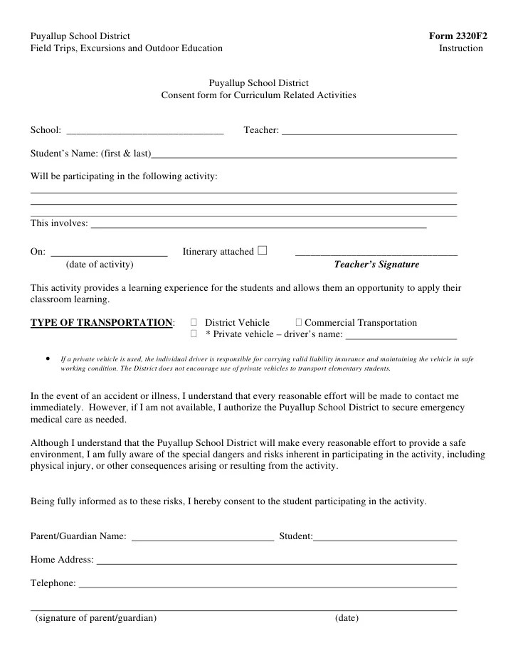 school trip permission letter - Alannoscrapleftbehind - parental consent letter for work sample