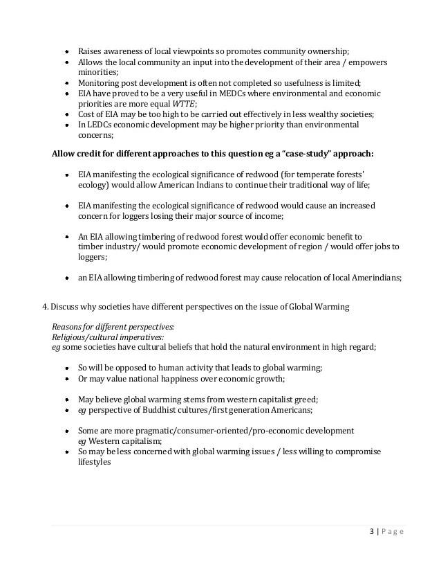 Global perspective essay topics