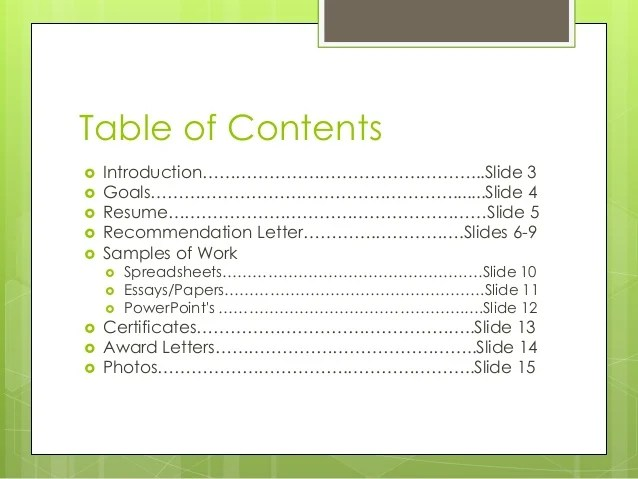 how to write an introduction to a portfolio sample