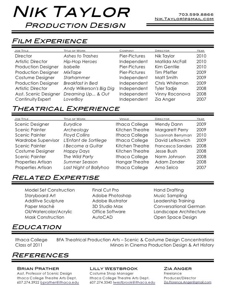 music producer resume sample mcallister daniel music resume 2