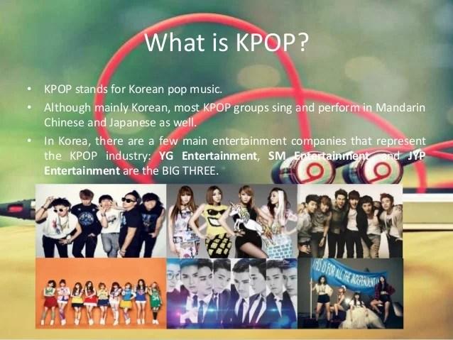 kpop companies in korea