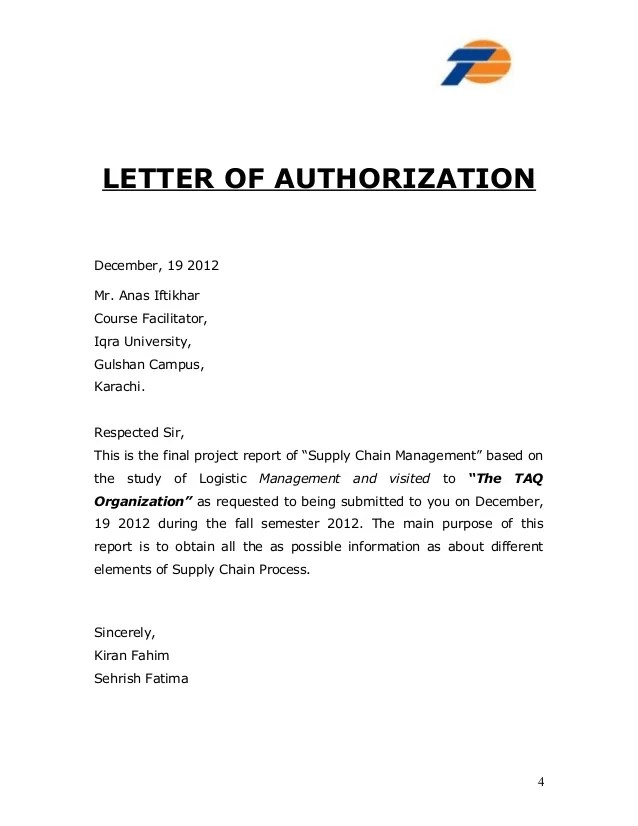 vehicle release authorization letter - Josemulinohouse - letters of authorization