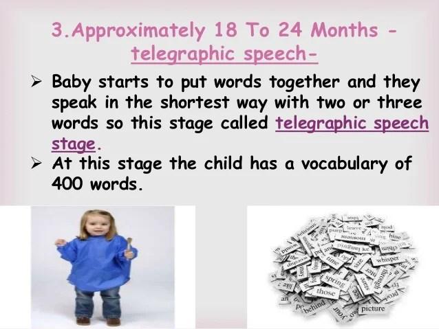 Steps In Children Acquiring A Language