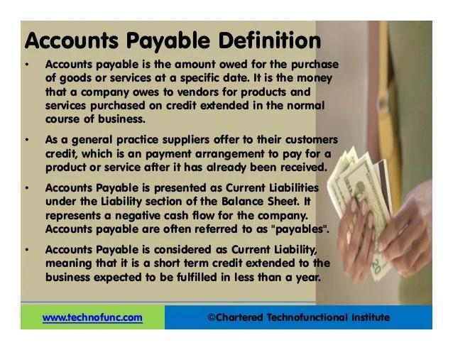AP Overview PDF/PPT Accounts Payable