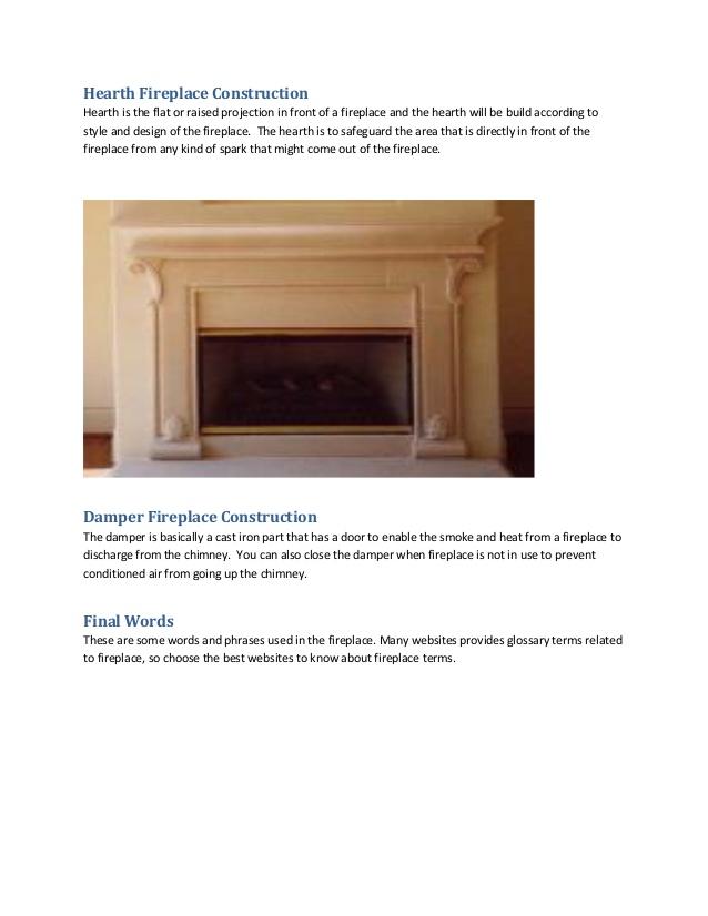 Fireplace Terms