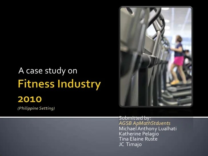 Philippines Case Study Iisd Fitness Industry Analysis