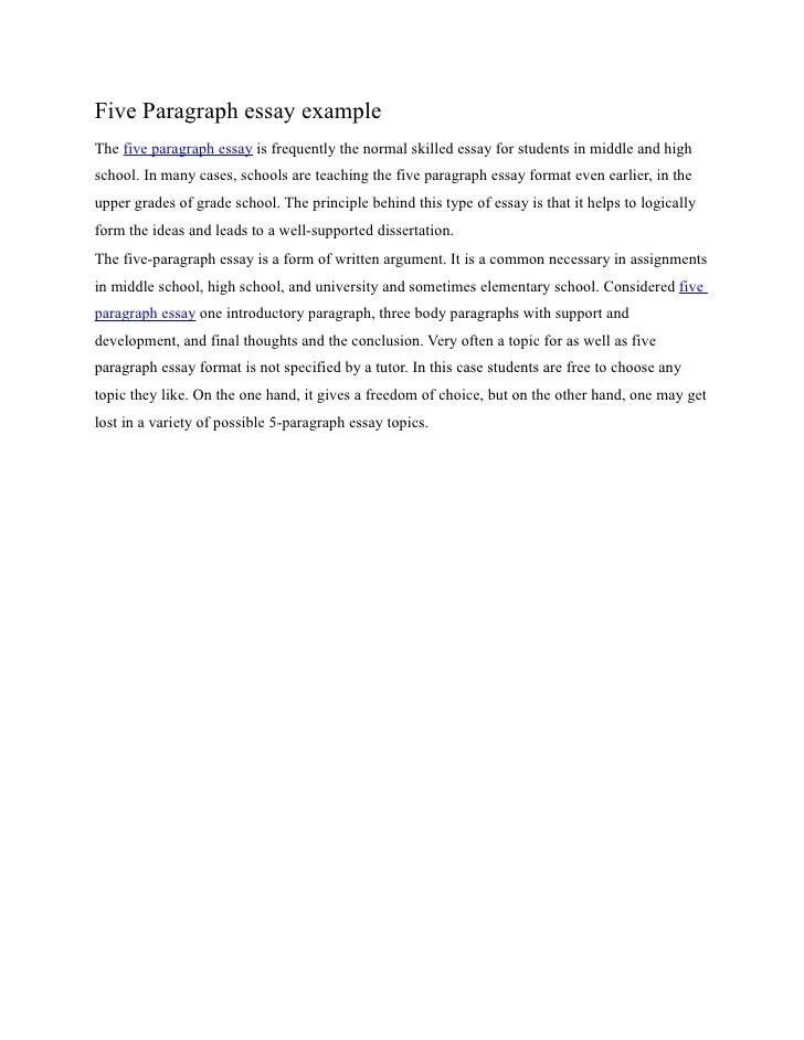 one paragraph essay examples - Canasbergdorfbib