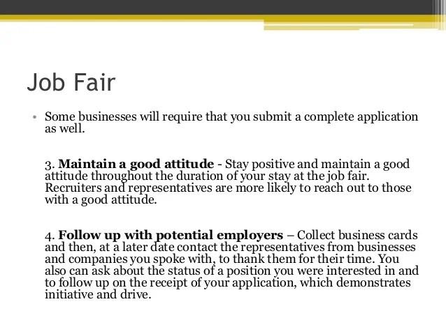 job fair tips - Acurlunamedia - what to ask at a job fair