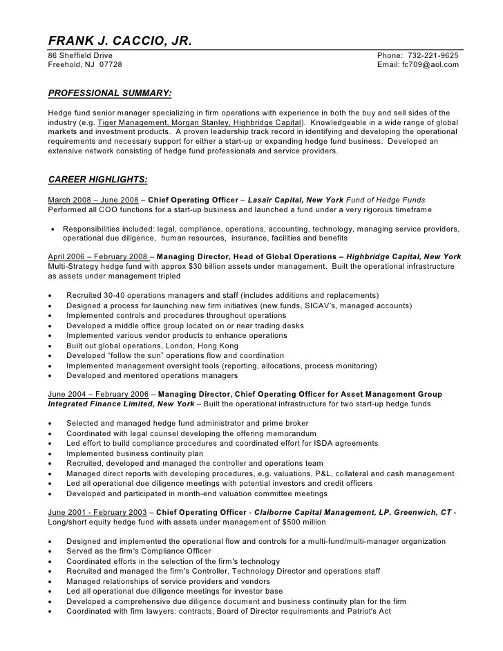 fund administrator resume - Intoanysearch - fund administrator resume