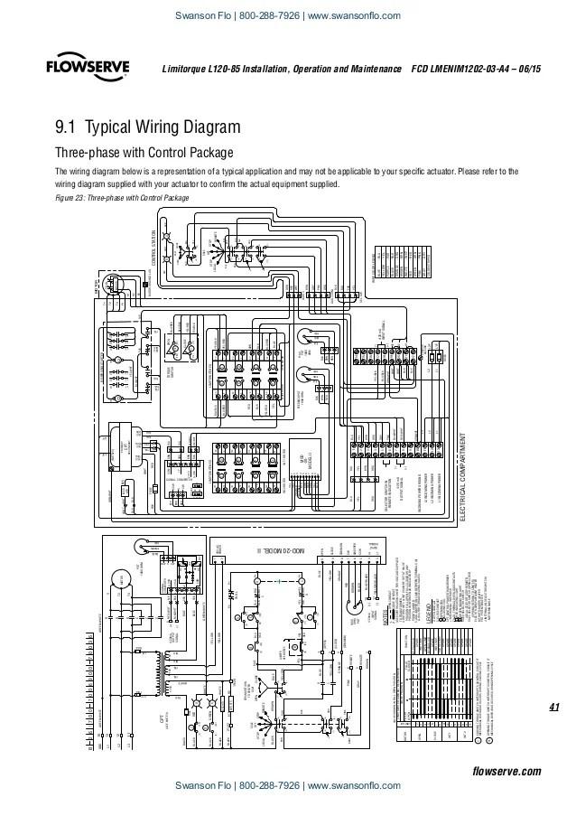 limitorque l120 wiring diagram 40