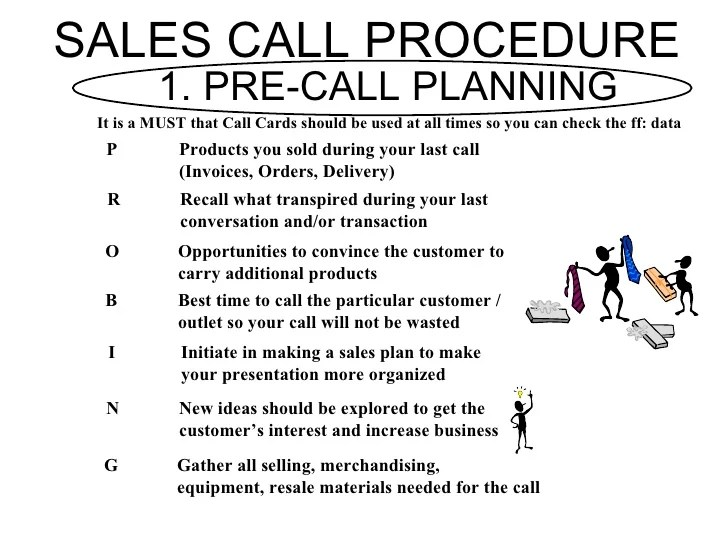 sales call plan template - Apmayssconstruction